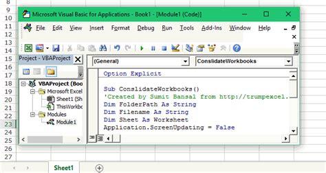 combine multiple excel files   excel workbook