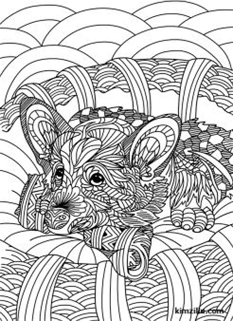 cute zentangle dog coloring page cats dogs coloring