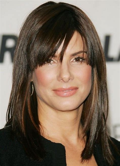 hair with side fringe styles 25 bullock hairstyles bullock hair pictures 8441