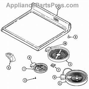 Parts For Maytag Mer6750aac  Top Assembly Parts
