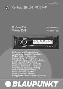 Blaupunkt Brisbane Sd48 Car Radio Download Manual For Free