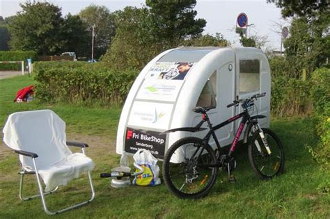 This Foldable Bicycle Camper Lets You Live Comfortably On