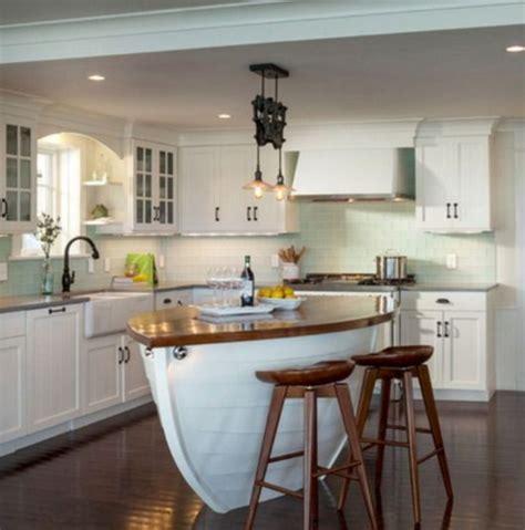 cool coastal kitchen design ideas roundecor