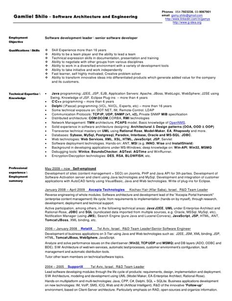 Enterprise Architect Resume Exles by Business Architect Resume Sales Architect Lewesmr