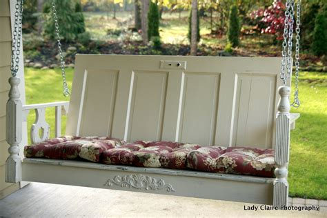 Huckleberry Lane One Of A Kind Porch Swing