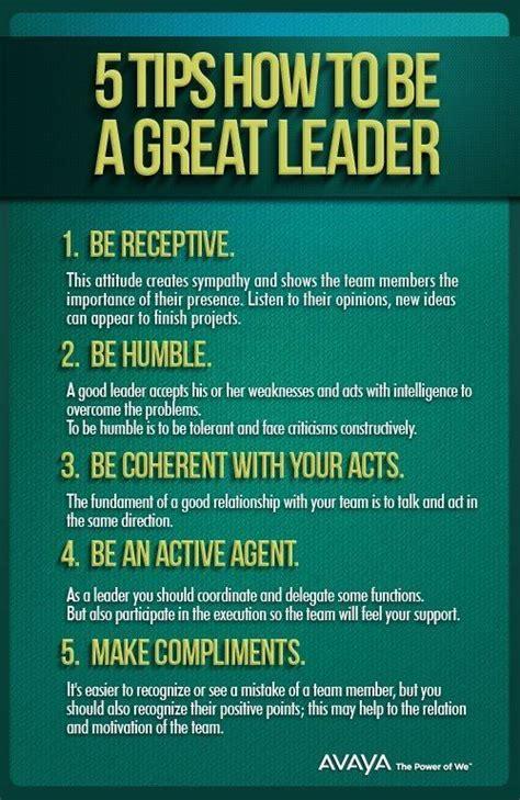 tips     great leader leadership development