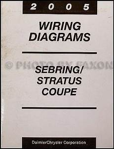 2004 Sebring Stratus Coupe Service Repair Set 4 Volume Set With The Wiring Diagrams