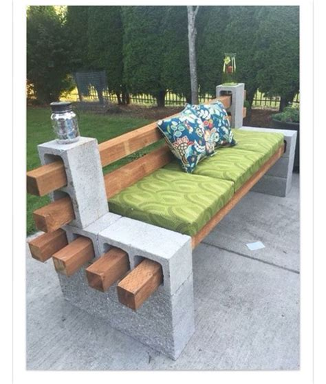cinder block patio furniture pictures to pin on