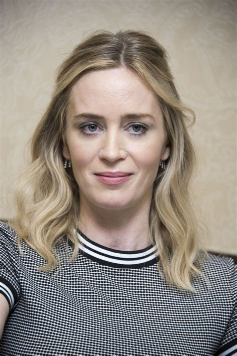 EMILY BLUNT – A Quiet Place Photoshoot, October 2018 ...