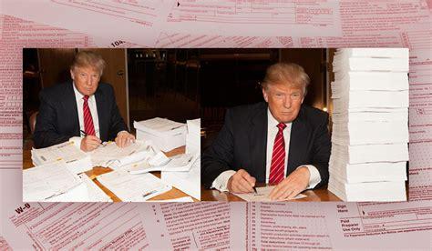 donald trumps tax returns  reveal