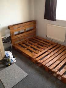 notinabox diy pallet bed