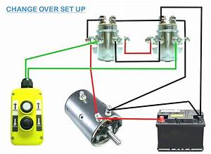 Diagram  12 Volt Winch Solenoid Wiring Diagram