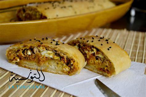 cuisine tunisienne ramadan brioché farci à la tunisienne