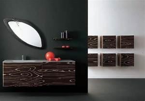 Meuble Salle De Bain Marron : 20 designs de meuble salle de bain contemporain ~ Melissatoandfro.com Idées de Décoration