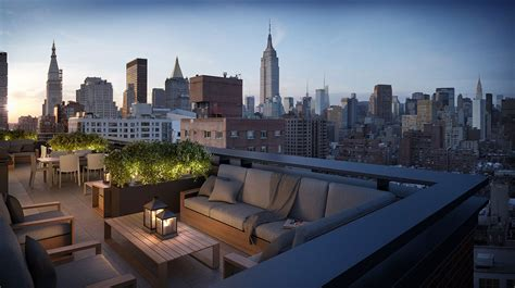 Perk #2 of Penthouse Living: Huge Rooftop Terraces You Can