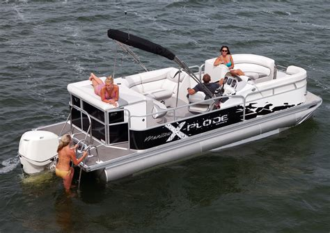 Swimming Pontoon by Manitou Pontoon Boats Seadek Marine Products