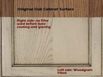 how to paint a kitchen cabinet semi transparent left adds color but lets grain show 8786