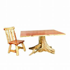 [ Red Cedar Log Dining Room ] - Best Free Home Design Idea