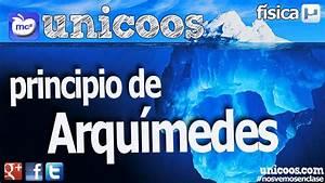 Principio de Arquimedes 01 BACHILLERATO fisica ...