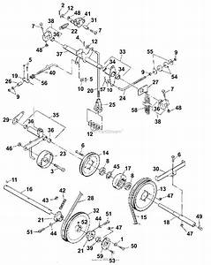 Bunton  Bobcat  Ryan 744874d Lawnaire 28 Parts Diagram For