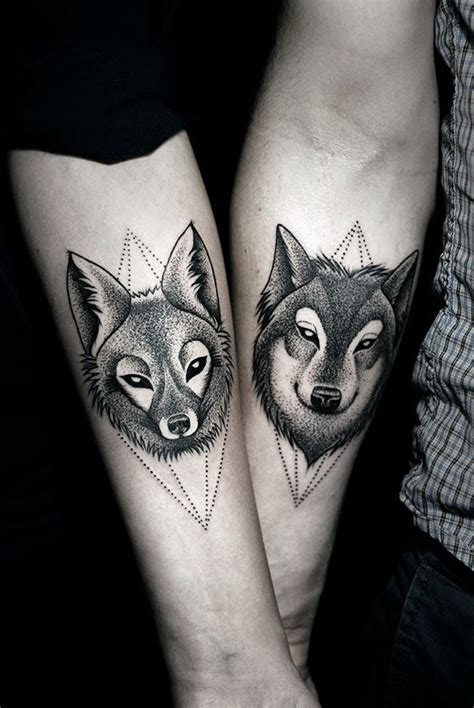matching tattoo designs  couples