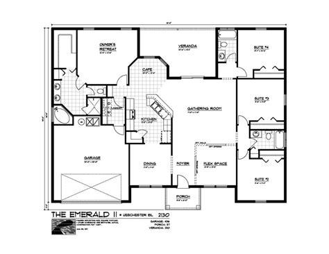 master suite floor plans floor plans for homes with 4 master suites floor free