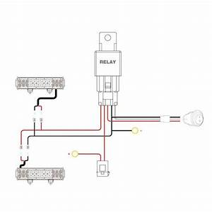 Nilight 16awg Wiring Harness Kit 12v