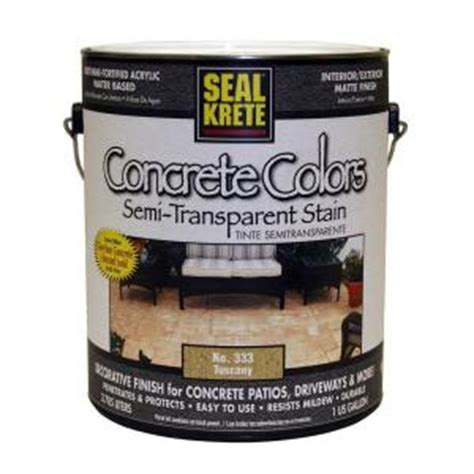seal krete floor tex home depot seal krete 1 gal concrete colors tuscany discontinued