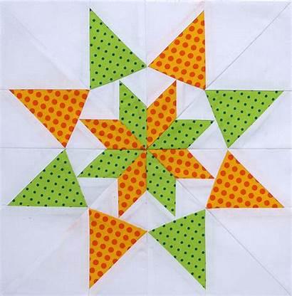 Colorado Paper Stars Piecing Star Pieced Block
