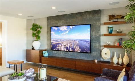 Chicago 65 Inch Tv Stand Family Room Contemporary With