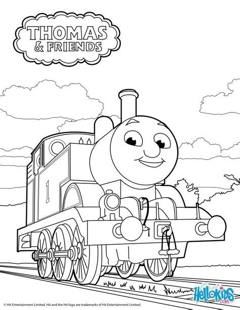 thomas  tank engine coloring pages hellokidscom