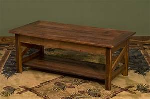 barnwood side table w shelf the log furniture store With barnwood furniture stores