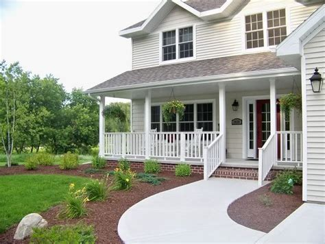 landscaping in front of porch front porch porches decks pinterest