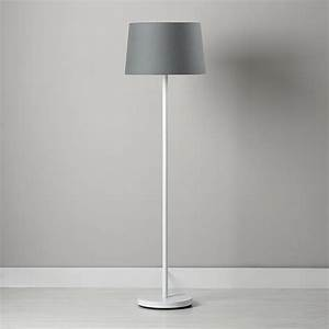 Kids floor lamps the land of nod for White floor lamp with pink shade