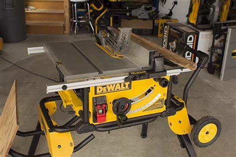 bosch vs dewalt table saw bosch 4100 09 vs rigid r4513 power tools wood talk online