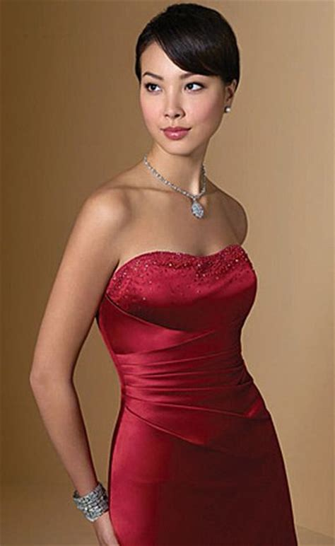 alfred angelo long satin bridesmaid dress  lace    french novelty