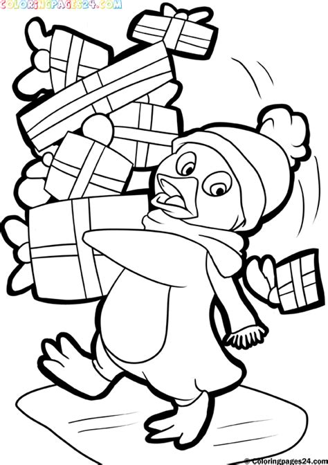printables santa  christmas themed coloring pages