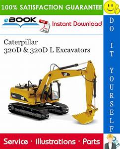 Caterpillar 320d  U0026 320d L Excavators Parts Manual  U2013 Pdf