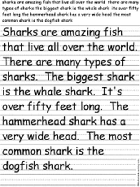 sharks  enchantedlearningcom