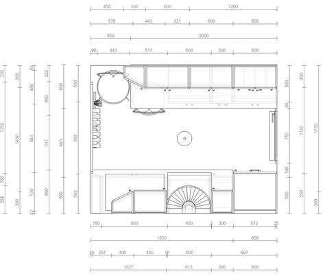 Galley Kitchen With Island Floor Plans - rysunek architektoniczno budowlany wikipedia wolna encyklopedia