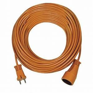 rallonge cable electrique jardin sans prise de terre With rallonge electrique de jardin