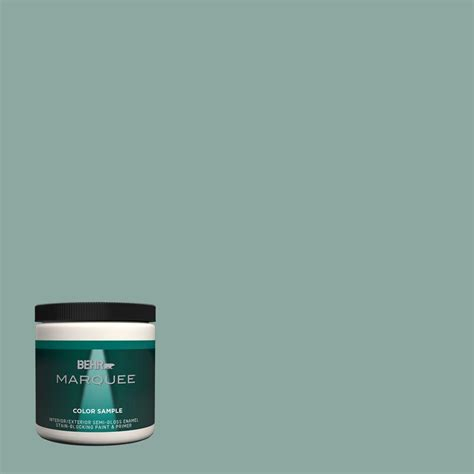 interior paint colors home depot behr marquee 8 oz s430 4 green meets blue one coat hide