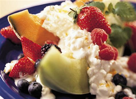 cottage cheese and fruit ode to cottage cheese a revolutionary new approach to