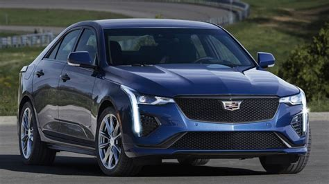 2020 Cadillac Lineup by Sporty 2020 Cadillac Ct4 V Joins Luxury Lineup