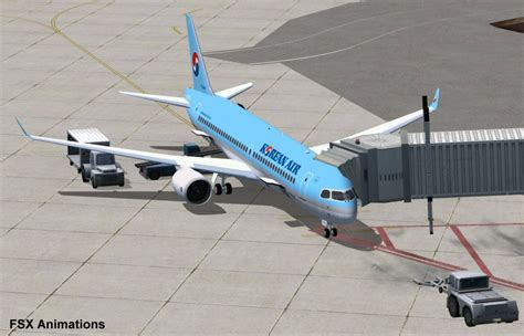 Korean Air Bombardier CSeries CS300 for FSX
