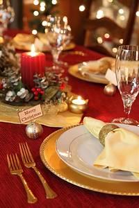 25, Elegant, Christmas, Table, Settings