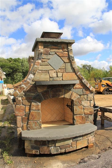 ready install outdoor fireplaces for sale installed
