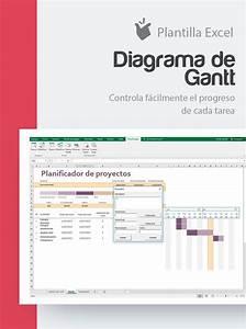 Diagrama De Gantt Excel Plantilla