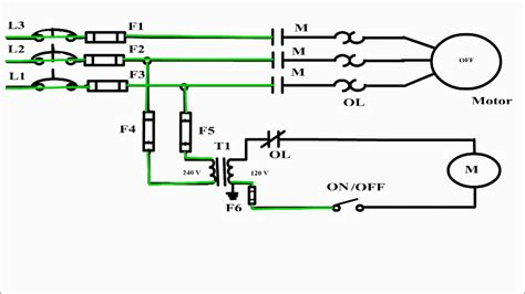 Wire Control Circuit Diagram Motor Basics