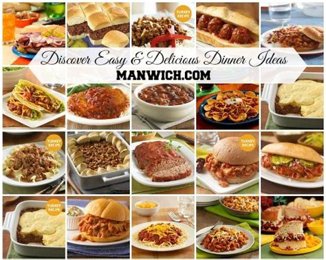 kitchen dinner ideas discover easy delicious dinner ideas with manwich and